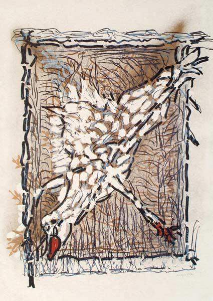 _ARCH_ Cap Tourmente (J), 1983 by Jean Paul Riopelle, R.C.A. - Galerie Lamoureux Ritzenhoff