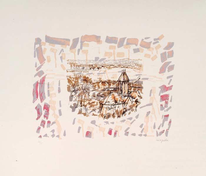 _ARCH_ Midi à Vétheuil, 1985 by Jean Paul Riopelle, R.C.A. - Galerie Lamoureux Ritzenhoff