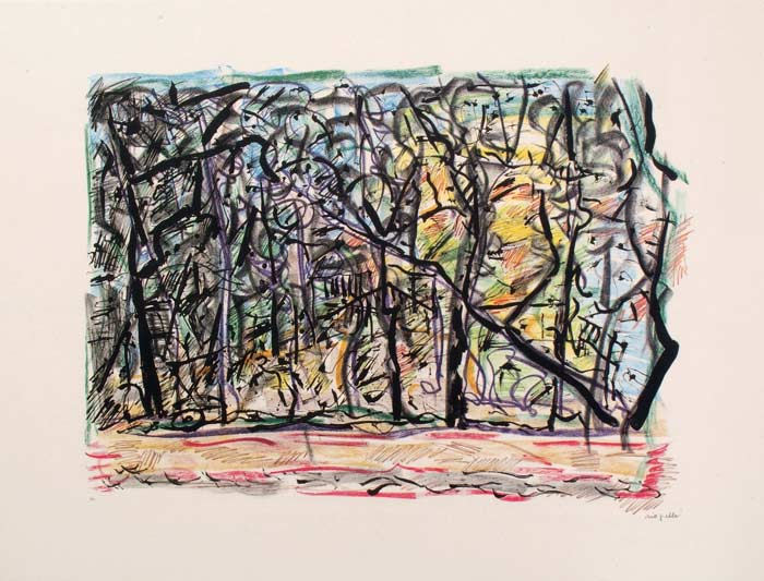 _ARCH_ M�diterran�e, 1988 by Jean Paul Riopelle, R.C.A. - Galerie Lamoureux Ritzenhoff