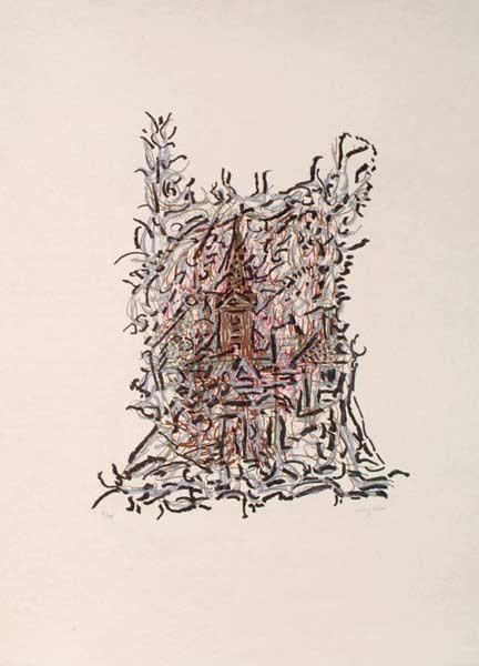_ARCH_ De chez Paolo, Caldès, 1985-1989 by Jean Paul Riopelle, R.C.A. - Galerie Lamoureux Ritzenhoff