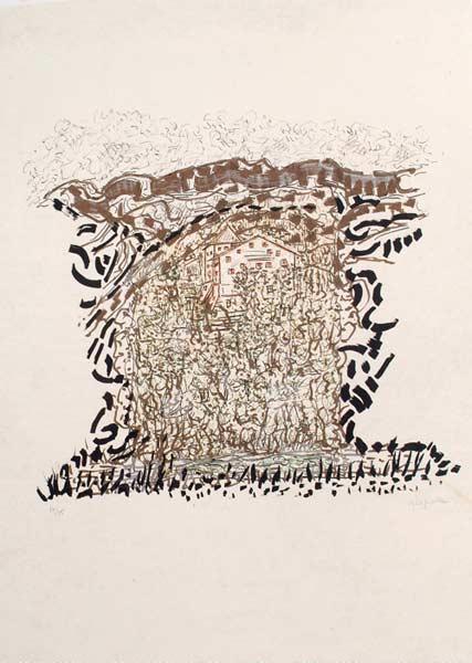 _ARCH_ Cald�s, 1985-1989 by Jean Paul Riopelle, R.C.A. - Galerie Lamoureux Ritzenhoff