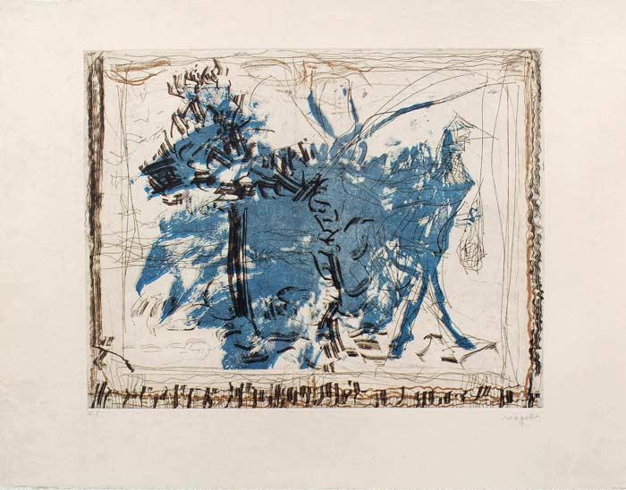 _ARCH_ Auprès de mon Lac no 2, 1985 by Jean Paul Riopelle, R.C.A. - Galerie Lamoureux Ritzenhoff
