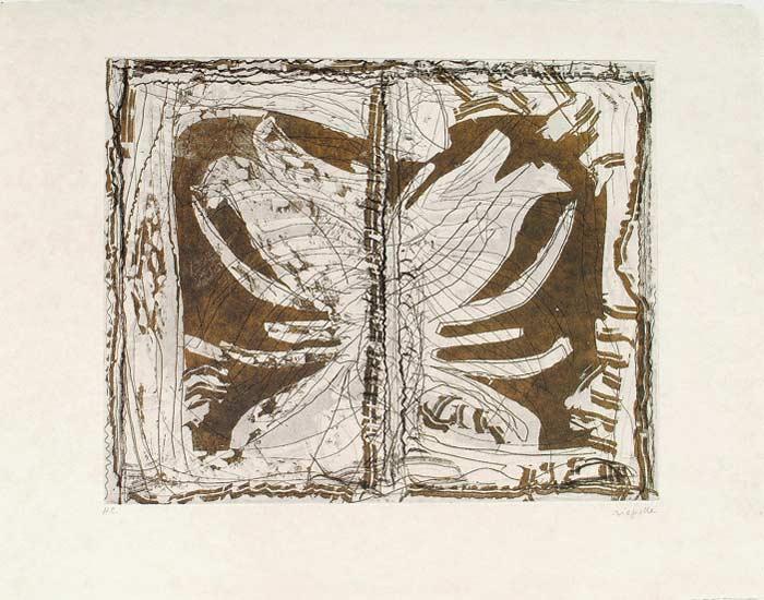 _ARCH_ Aupr�s de mon Lac no 3, 1985 by Jean Paul Riopelle, R.C.A. - Galerie Lamoureux Ritzenhoff