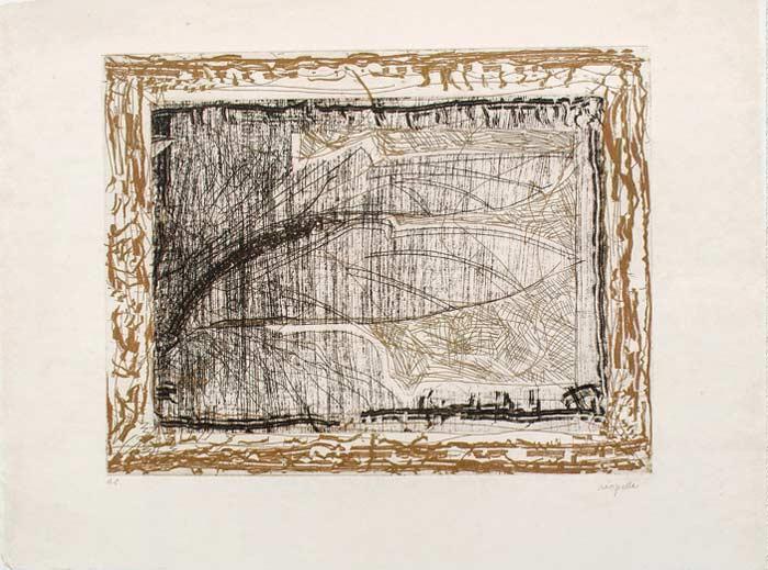 _ARCH_ Auprès de mon Lac no 4, 1985 by Jean Paul Riopelle, R.C.A. - Galerie Lamoureux Ritzenhoff