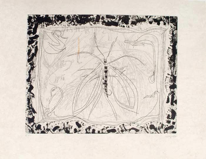 _ARCH_ Aupr�s de mon Lac no 6, 1985 by Jean Paul Riopelle, R.C.A. - Galerie Lamoureux Ritzenhoff