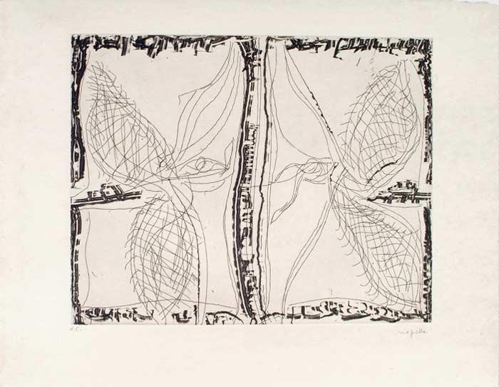 _ARCH_ Aupr�s de mon Lac no 7, 1985 by Jean Paul Riopelle, R.C.A. - Galerie Lamoureux Ritzenhoff