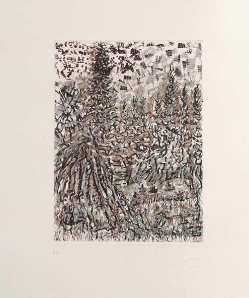 _ARCH_ Anticosti no 1, 1985 by Jean Paul Riopelle, R.C.A. - Galerie Lamoureux Ritzenhoff
