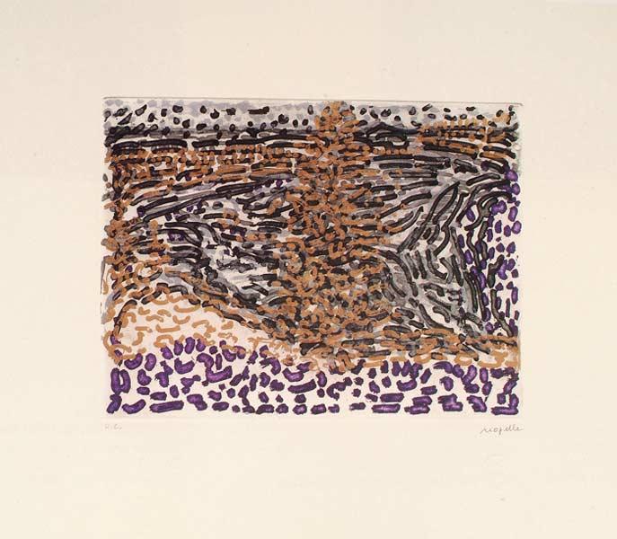 _ARCH_ Anticosti no 4, 1985 by Jean Paul Riopelle, R.C.A. - Galerie Lamoureux Ritzenhoff