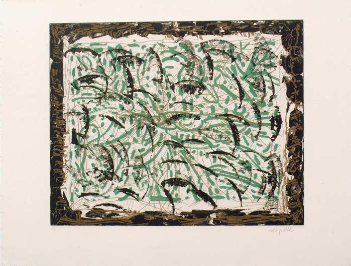 _ARCH_ Les Mouches � marier no 2 , 1985 by Jean Paul Riopelle, R.C.A. - Galerie Lamoureux Ritzenhoff