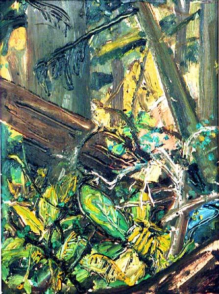 _ARCH_ Fallen Trees (Forest, B.C.), circa 1960 by Arthur Lismer - Galerie Lamoureux Ritzenhoff