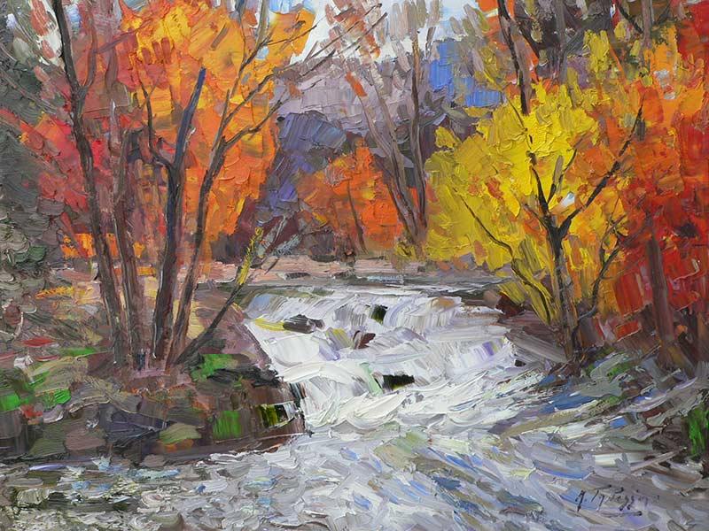 _ARCH_ Falls near Joliette by Armand Tatossian (A.R.C.A / R.C.A) - Galerie Lamoureux Ritzenhoff
