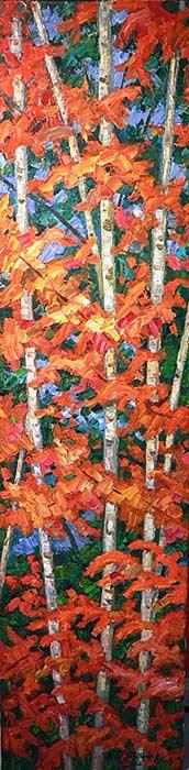 _ARCH_ The Birches by Armand Tatossian (A.R.C.A / R.C.A) - Galerie Lamoureux Ritzenhoff
