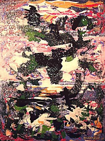_ARCH_ La Mer à cinq heures by Léon Bellefleur, (A.R.C.A/R.C.A) - Galerie Lamoureux Ritzenhoff
