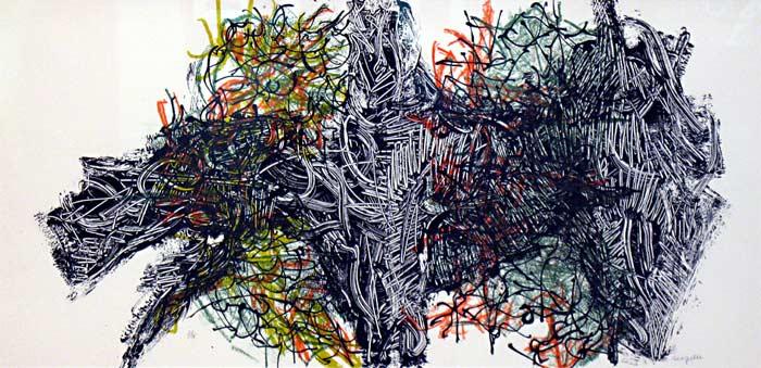 _ARCH_ Album 67 (no. 6) by Jean Paul Riopelle, R.C.A. - Galerie Lamoureux Ritzenhoff