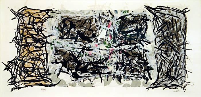 _ARCH_ Album 67 (no. 3), 1967 by Jean Paul Riopelle, R.C.A. - Galerie Lamoureux Ritzenhoff