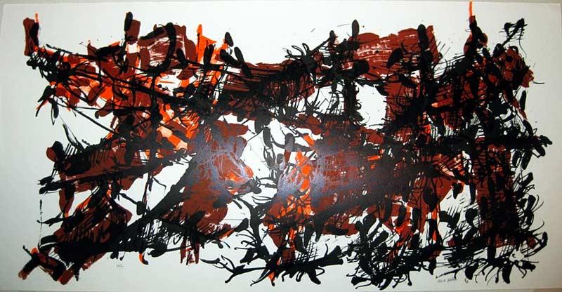 _ARCH_ Album 67, no.8, 1967 by Jean Paul Riopelle, R.C.A. - Galerie Lamoureux Ritzenhoff