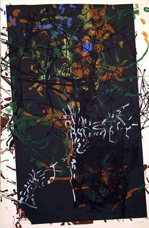 _ARCH_ Avant la lettre, no. 106 by Jean Paul Riopelle, R.C.A. - Galerie Lamoureux Ritzenhoff