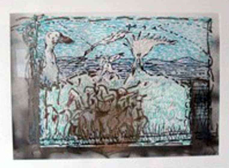 _ARCH_ Cap a Lisette by Jean Paul Riopelle, R.C.A. - Galerie Lamoureux Ritzenhoff