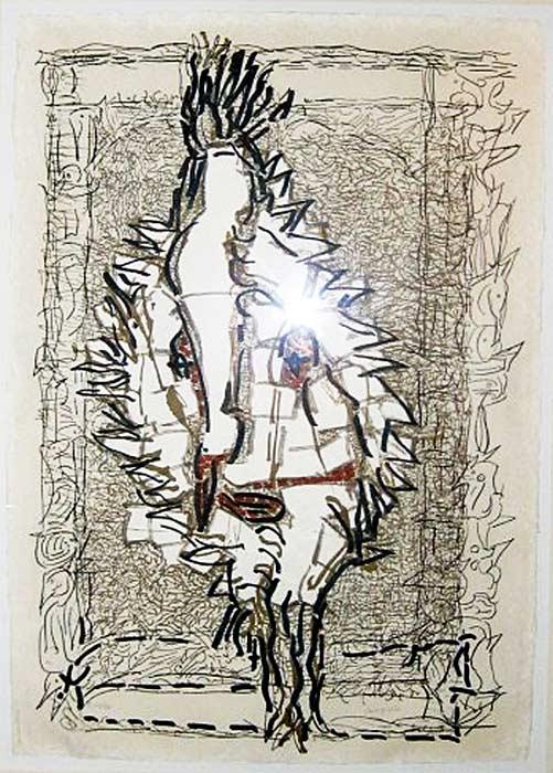 _ARCH_ Cap Tourmente (E), 1983 by Jean Paul Riopelle, R.C.A. - Galerie Lamoureux Ritzenhoff