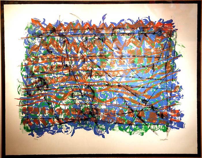 _ARCH_ Chope by Jean Paul Riopelle, R.C.A. - Galerie Lamoureux Ritzenhoff
