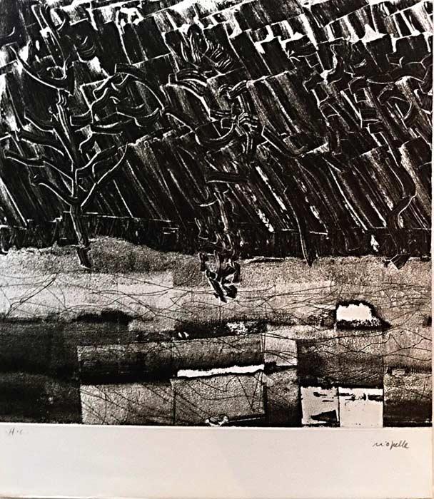 _ARCH_ Fondation, 1973-1974 by Jean Paul Riopelle, R.C.A. - Galerie Lamoureux Ritzenhoff