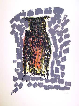 _ARCH_ Hibou X by Jean Paul Riopelle, R.C.A. - Galerie Lamoureux Ritzenhoff