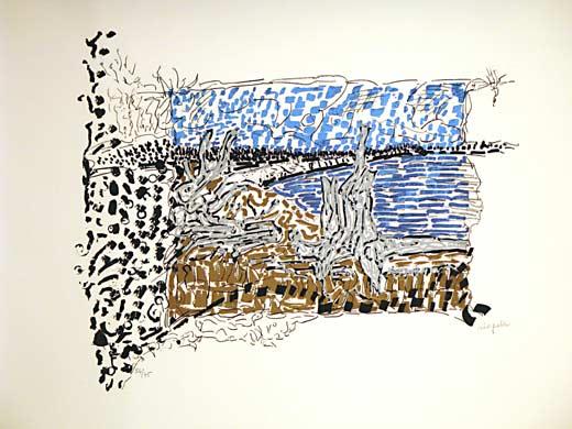 _ARCH_ O� un ours est chass� Album of 4 by Jean Paul Riopelle, R.C.A. - Galerie Lamoureux Ritzenhoff