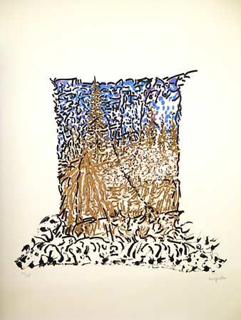 _ARCH_ O� un ours est chass� debout Album of 4 by Jean Paul Riopelle, R.C.A. - Galerie Lamoureux Ritzenhoff