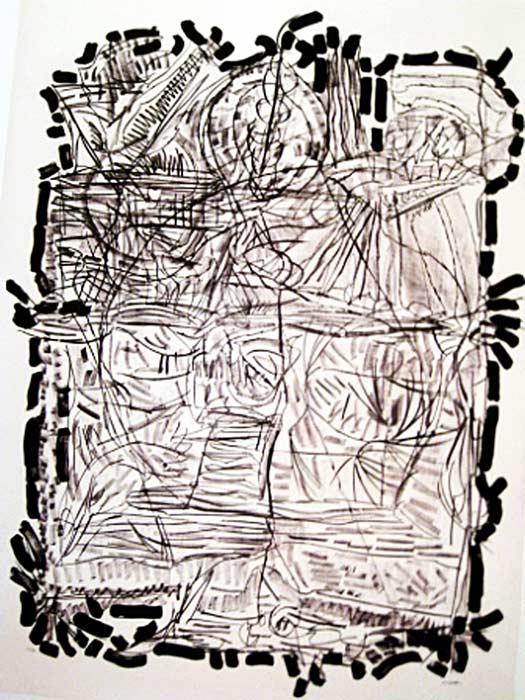 _ARCH_ Suite Finale, 1972 by Jean Paul Riopelle, R.C.A. - Galerie Lamoureux Ritzenhoff