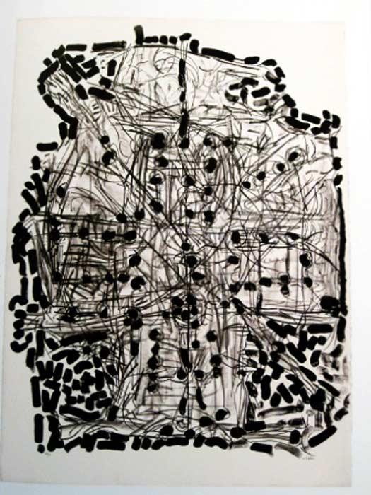 _ARCH_ Suite Gaspésienne, 1972 by Jean Paul Riopelle, R.C.A. - Galerie Lamoureux Ritzenhoff