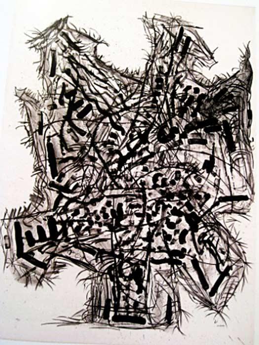 _ARCH_ Suite Générale, 1972 by Jean Paul Riopelle, R.C.A. - Galerie Lamoureux Ritzenhoff