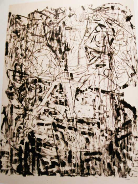 _ARCH_ Suite Lachaudi�re, 1972 by Jean Paul Riopelle, R.C.A. - Galerie Lamoureux Ritzenhoff
