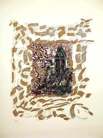 _ARCH_ Vétheuil entre chien et loup by Jean Paul Riopelle, R.C.A. - Galerie Lamoureux Ritzenhoff