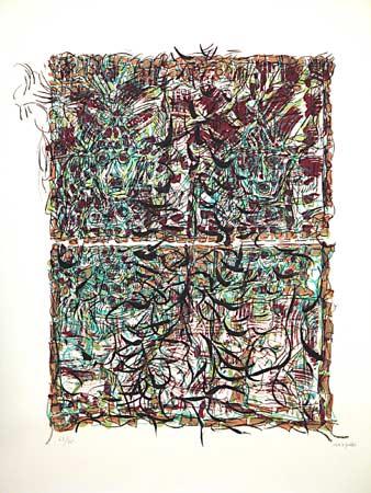_ARCH_ Aux aguets by Jean Paul Riopelle, R.C.A. - Galerie Lamoureux Ritzenhoff
