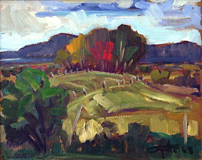 _ARCH_ St-Flore, Quebec, circa 1965 by Léo Ayotte - Galerie Lamoureux Ritzenhoff