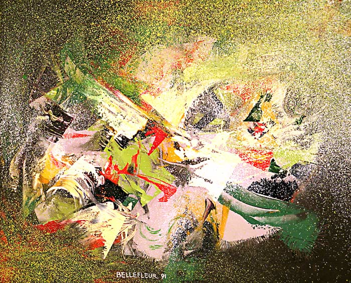 _ARCH_ Waves' Top by Léon Bellefleur, (A.R.C.A/R.C.A) - Galerie Lamoureux Ritzenhoff