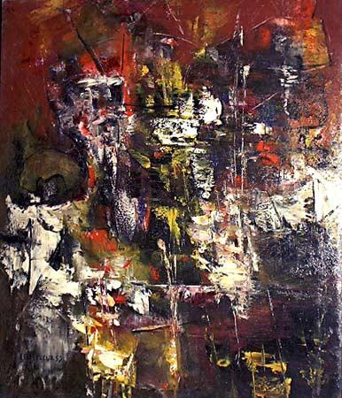 _ARCH_ Abstract by Léon Bellefleur, (A.R.C.A/R.C.A) - Galerie Lamoureux Ritzenhoff