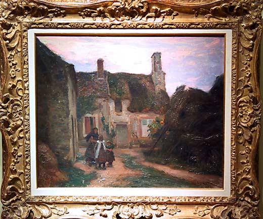 _ARCH_ Marc-Aurèle de Foy Village de Bretagne by Marc-Aurèle de Foy Suzor-Côté - Galerie Lamoureux Ritzenhoff