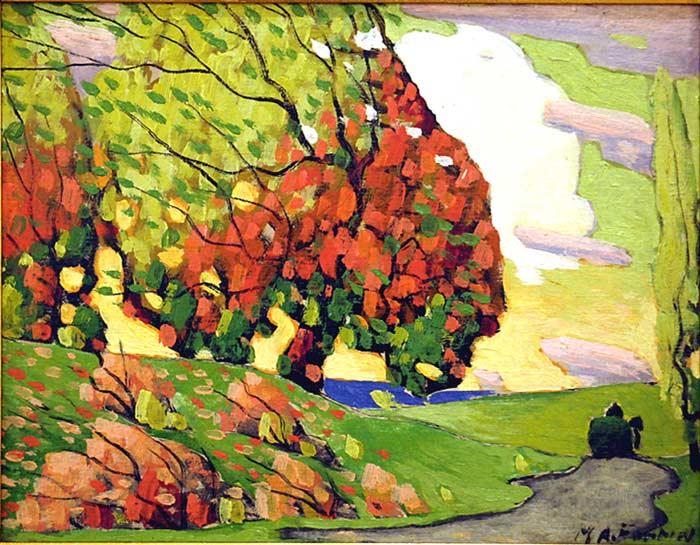_ARCH_ Autumn Foliage by Marc-Aur�le Fortin, R.C.A. - Galerie Lamoureux Ritzenhoff