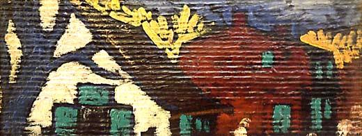 _ARCH_ Vieilles Maisons by Marc-Aur�le Fortin, R.C.A. - Galerie Lamoureux Ritzenhoff