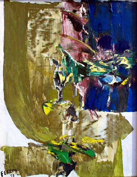 _ARCH_ Untitled by Marcelle Ferron - Galerie Lamoureux Ritzenhoff