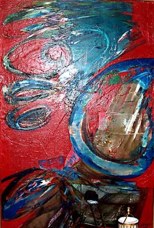 _ARCH_ Tête folle by Marcelle Ferron - Galerie Lamoureux Ritzenhoff