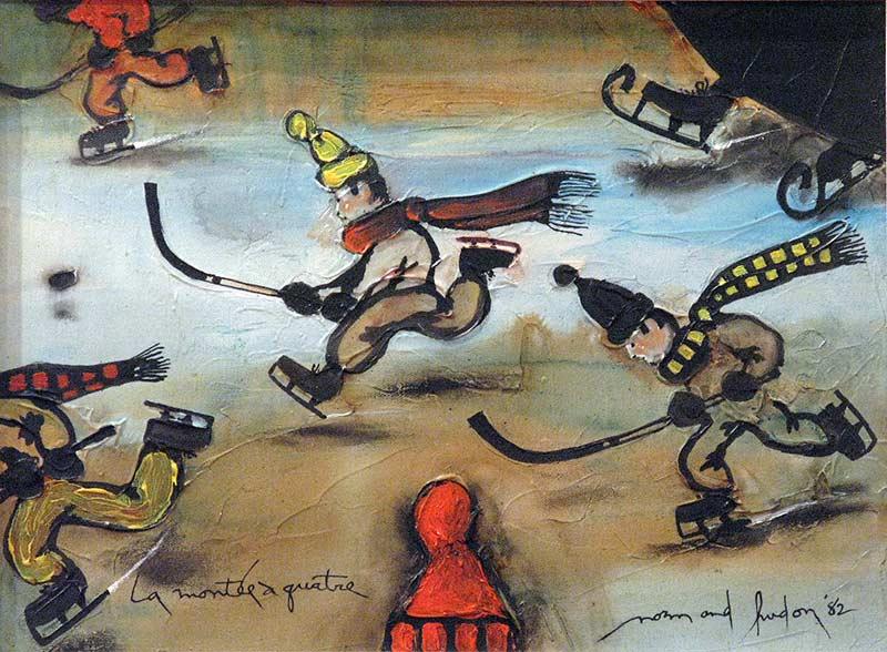 _ARCH_ Montée à quatre, 1982 by Normand Hudon - Galerie Lamoureux Ritzenhoff