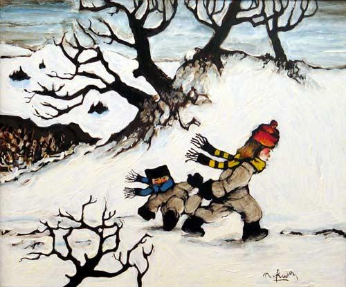 _ARCH_ Winter Pleasures by Normand Hudon - Galerie Lamoureux Ritzenhoff