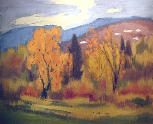 _ARCH_ Autumn Landscape by Paul Soulikias - Galerie Lamoureux Ritzenhoff