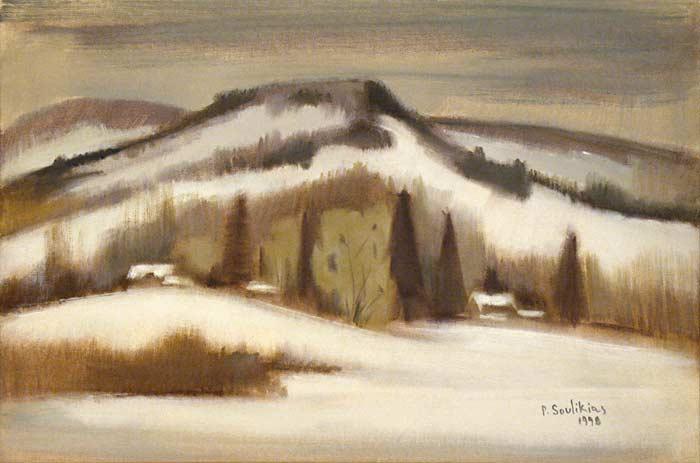 _ARCH_ Winter in the Laurentians by Paul Soulikias - Galerie Lamoureux Ritzenhoff
