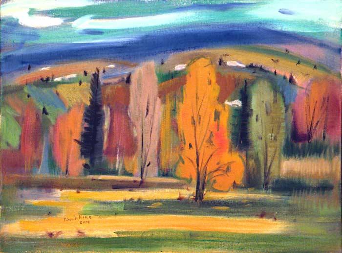 _ARCH_ «Landscape in Autumn» by Paul Soulikias - Galerie Lamoureux Ritzenhoff