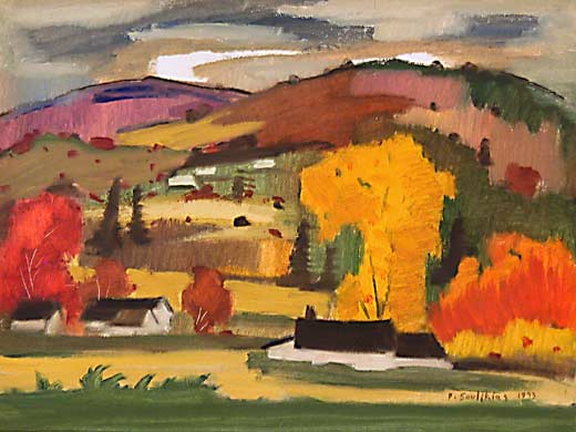 _ARCH_ Paysage d'automne by Paul Soulikias - Galerie Lamoureux Ritzenhoff