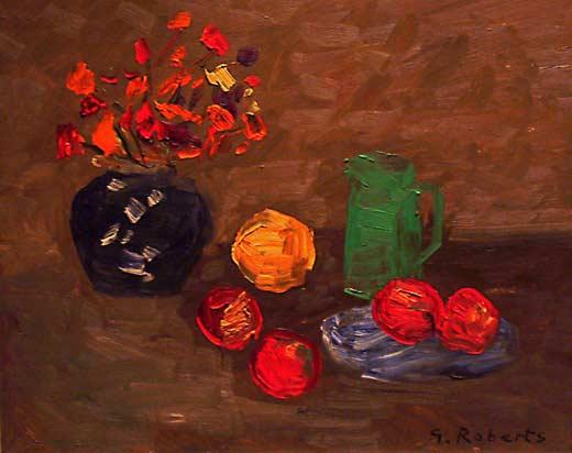 _ARCH_ Still Life by William Goodridge Roberts,  (A.R.C.A./R.C.A.) - Galerie Lamoureux Ritzenhoff