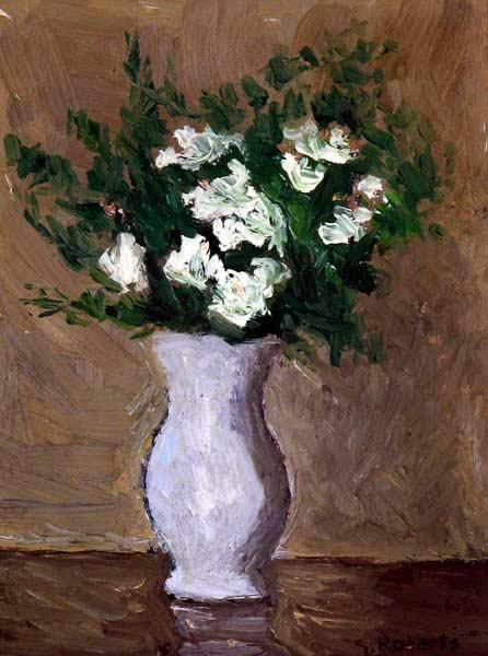 _ARCH_ Still Life (bouquet), circa 1950 by William Goodridge Roberts,  (A.R.C.A./R.C.A.) - Galerie Lamoureux Ritzenhoff